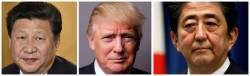 "<!HS>트럼프<!HE>-시진핑-아베 연쇄 통화 ""북한에 도발 자제 촉구"""