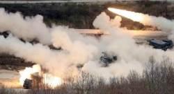 북한군 25일 화력시위 '장군', 한ㆍ미 26일 통합 화력격멸 훈련 '멍군'