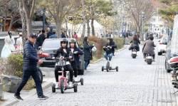 [<!HS>J<!HE> <!HS>report<!HE>] 공원·인도·자전거도로 … 갈 길 없는 '혼카'