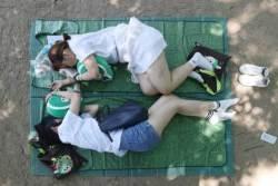 [사진] 누가누가 오래 자나 '꿀잠 경연대회'