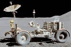 [인사이트] 1971년 우주인 첫 자동차 루나 로버, 티타늄 요철 붙인 강철선 타이어 달아