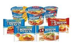 """""""팔도비빔면 잡아라""""… 라면 업계, 여름 계절면 경쟁 '후끈'"""