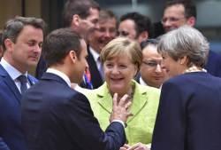 EU 정상들, <!HS>트럼프<!HE> 서명 철회한 파리기후협정 이행 약속