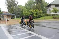 자전거로 미 대륙 횡단해 한국전 참전용사 만나 감사 메시지 전한 20대 청년들