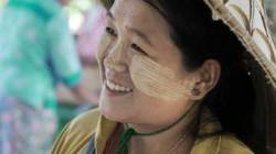 [잼쏭부부의 잼있는 여행] 22 미얀마 여인 뺨의 흰색 크림 정체는?