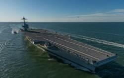 미 해군, 항공모함 '세대교체' 눈앞에…얼마나 강해졌나