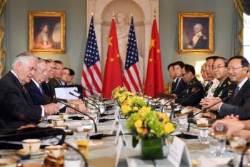 한ㆍ미정상회담 직전에 만난 미국과 중국, 대화 내용을 보니