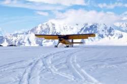 캐나다에 갔다, 10만 년 전 빙하기 지구에 착륙했다