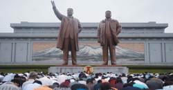北, 김일성ㆍ김정은 우상화 가속도…올해만 동상 10여개 건립
