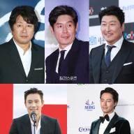 김윤석·설경구·송강호·이병헌·조인성, 청룡 후보 확정(공식)