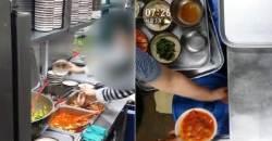 먹다 남긴 찌개 국물도 재활용하는 모 시외버스 터미널 식당