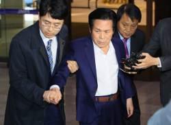 """""""신도 성폭행"""" 만민교회 이재록 목사, 경찰 기습출석"""