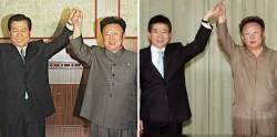 2000년·2007년 정상회담선 무슨 일이? 사진으로 보는 1·2차 남북정상회담