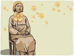 자유의 여신상과 평화의 소녀상