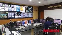 가파도발전소 마이크로그리드 운영센터 모습