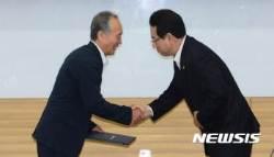 손 잡은 공동 농정개혁위원장들