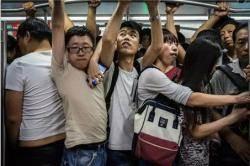 """중 연구 """"베이징 지하철 공기질, 스모그 시 바깥보다 못하다"""""""