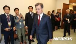 文대통령, 한·세네갈 정상회담···북핵 긴밀 공조 논의