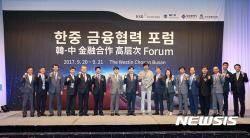 예탁결제원, '2017 한·중 금융협력 포럼' 성료