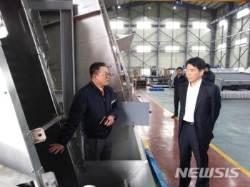 경남조달청, 우수조달기업 현장 방문