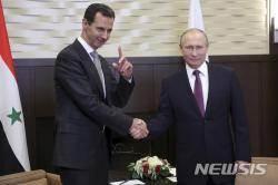 푸틴·로하니·에르도안, 내달 '시리아 국민대화회의' 개최 합의