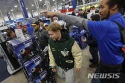 블랙프라이데이 쇼핑 나선 미국인들