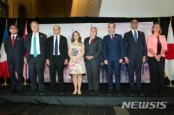 """G7외무장관들 """"북핵 위기 평화적 해결 지지"""""""