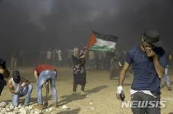 """이스라엘군, 가자지구 하마스 공습 """"<!HS>테러<!HE>단체 책임 묻겠다"""""""