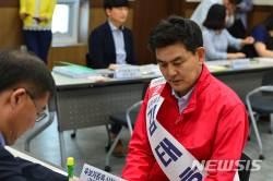 김태호 경남지사 후보, 수산·양식업 첨단 복합양식센터 지원 등 공약