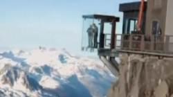 해발 3,842m 몽블랑산에 '우뚝'…유리관 전망대 아찔