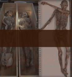 400년을 건너온 '타임캡슐'  노처녀 미라 왜 불태웠나