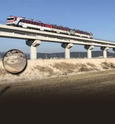이 철로옆 300m, 액상화 발견됐다