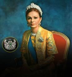 보석 1541개 박힌 왕관 썼던  이란 황후 파라 디바의 몰락