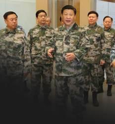 중국에 핵 터지면  시진핑은 달려간다  지하 2km 동굴로
