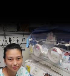 두 달 차이로  한 살 터울 된  세쌍둥이 탄생