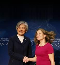 대북제재 걸림돌 중·러 쏙 뺐다  참전 16개국 '밴쿠버 북핵 회담'