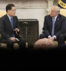 트럼프, 김정은 '만남' 제의   실무회담 없이 OK한 이유