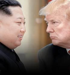 """""""북미 만남 악마는 4월에 있다 김정은 승리, 트럼프 빈손 위험"""""""