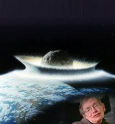 """호킹의 죽음 전 예언   """"AI로 인류 종말 온다  200년내 지구 떠나라"""""""