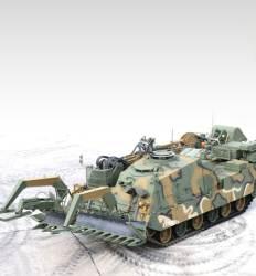 포탄 대신 삽·쟁기 든 탱크 '지뢰 제거용 전차' 첫 도입