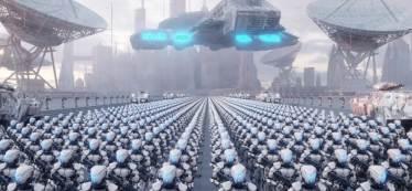 성큼 다가온 인간과 전투로봇의 전쟁