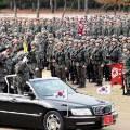 민간 기업회장을 장군 대접 오픈카 태워 병사 사열한 30사단