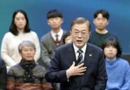 """'방파제론' 꺼내 日 비판한 文···""""지소미아 종료 결심"""" 관측"""