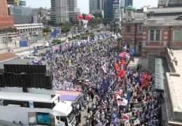 """""""박빠 아니다"""" 조원진 말에 홍문종 반발···집회도 따로 연다"""