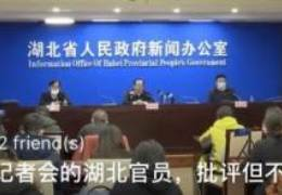마스크 거꾸로 쓴 우한 시장···중국인 분노 부른 엉뚱 회견