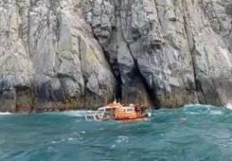 통영서 고립된 다이버 2명은 구조···해경 1명은 수색중 실종