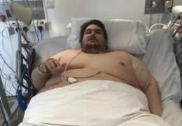 배달앱이 부른 비극···구조만 7시간 걸린 317kg 英사나이