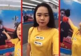 """시진핑 사진에 먹물 뿌렸던 中여성 """"죽는게 낫다"""" 호소, 왜"""
