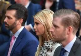 """트럼프, 퇴임 안전장치?···""""세 자녀·줄리아니 선제사면 논의"""""""