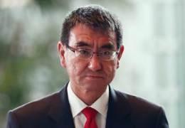 고노, 日각료 중 첫 '도쿄올림픽 취소 가능성' 발언 파문